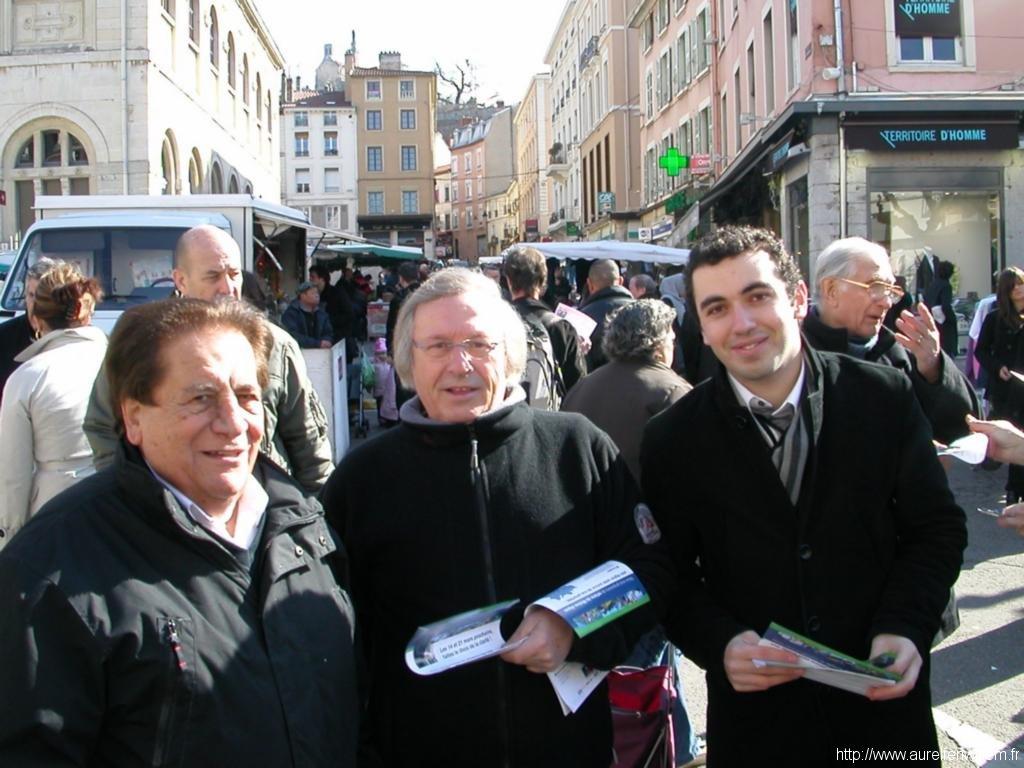 Sur le marché à Vienne