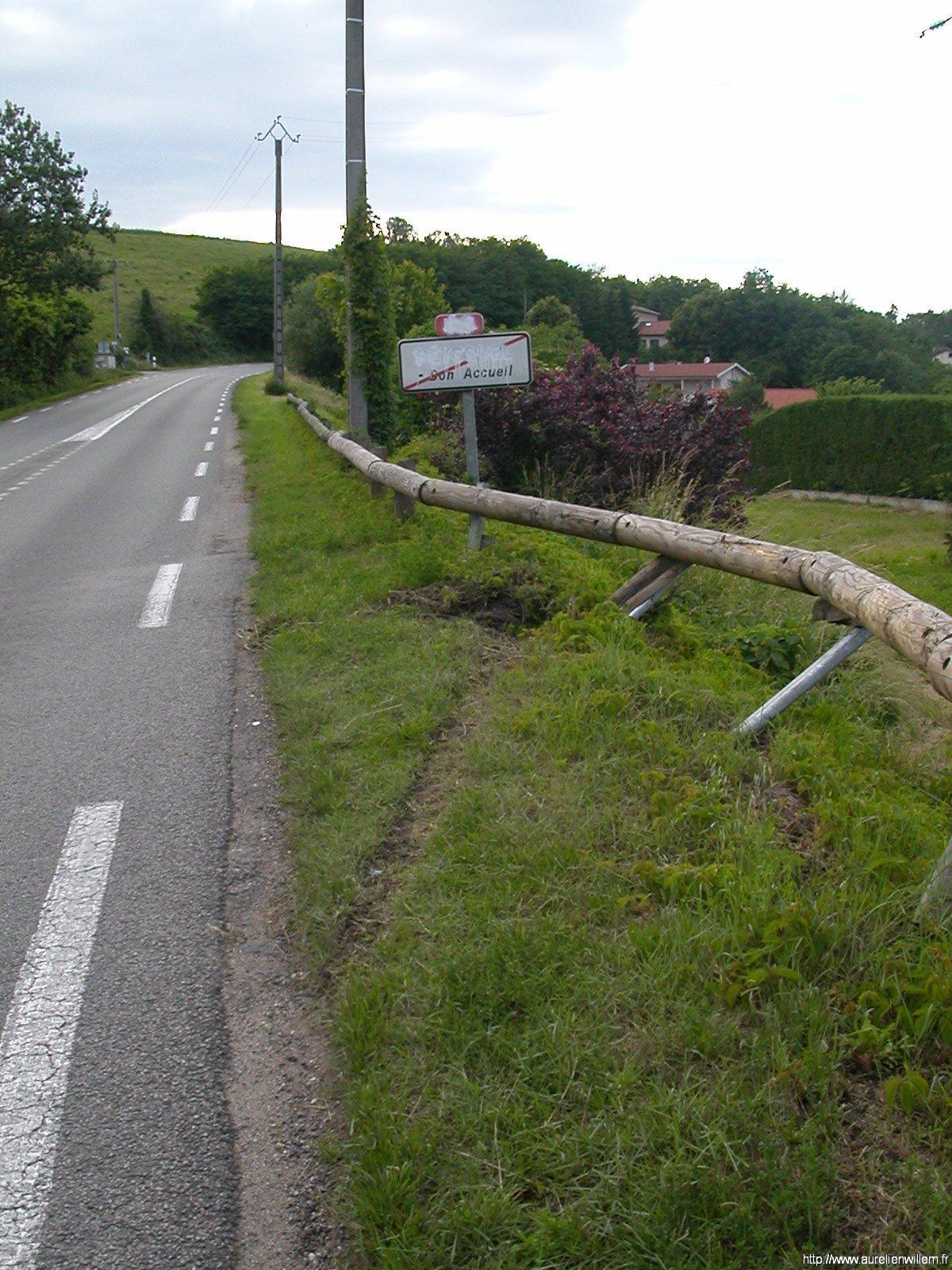 Accident du dimanche 1 juin 2008