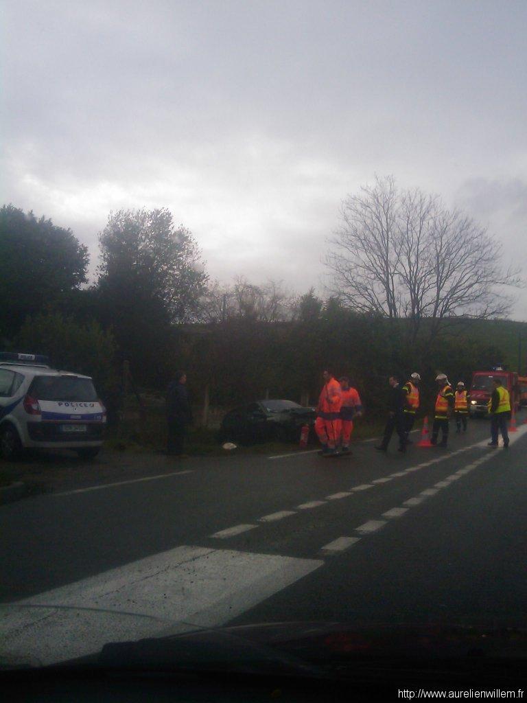 Accident du lundi 7 décembre 2009