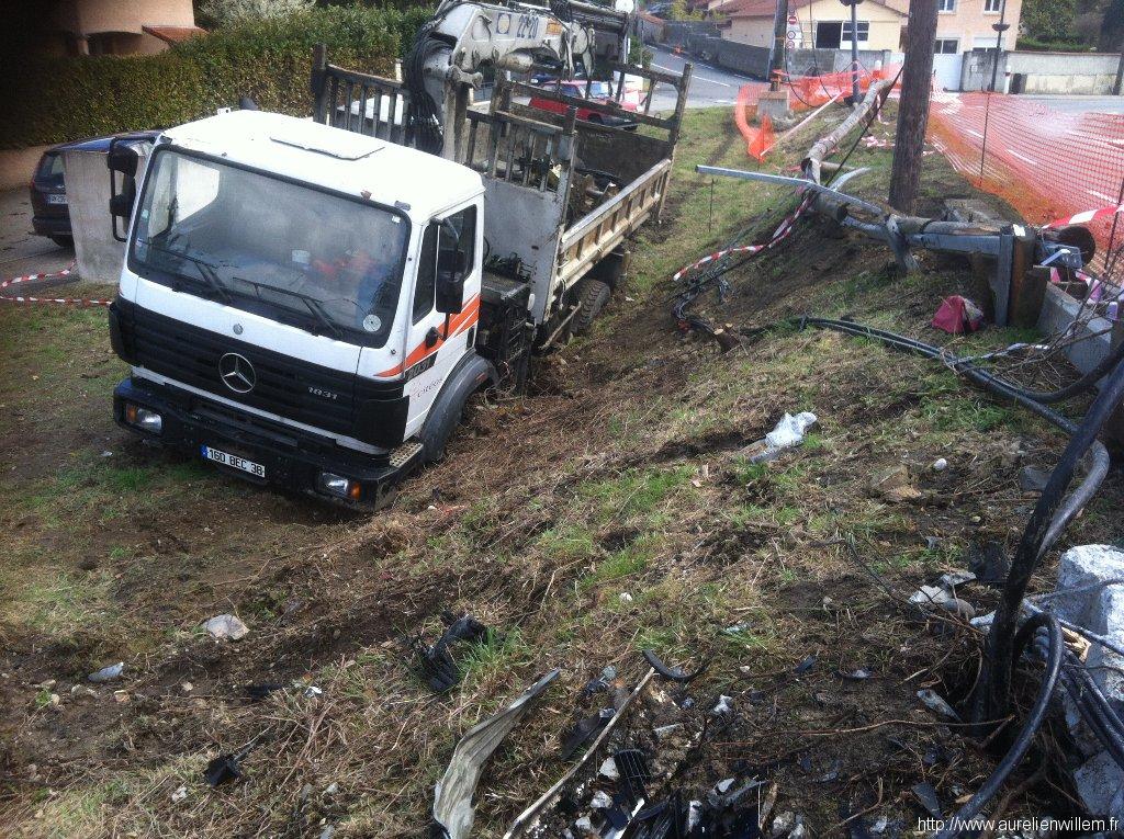 Accident du 20/03/2012