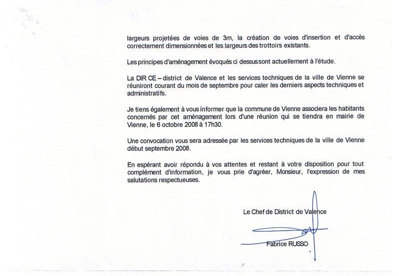 lettre DIR 01-08-2008 suite