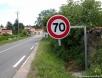 Nouvelle limitation à 70 -> Passé à 50 depuis 2009