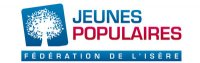Logo jeunes populaire fédération de l'isère