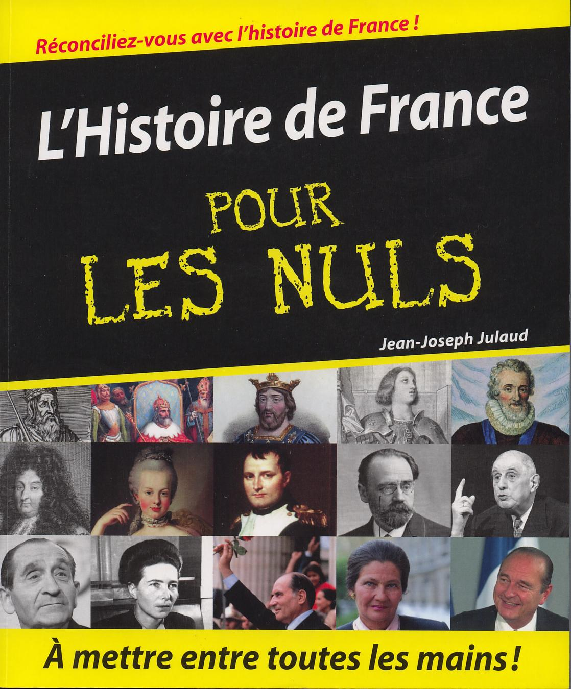 nuls - Pour les nuls - Page 3 Histoiredefrancepourlesnuls