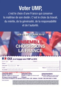 "Tract ""ensemble choisissons la france"" Page 4"