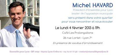 Michel Havard à la rencontre des habitants du 7e arrondissement