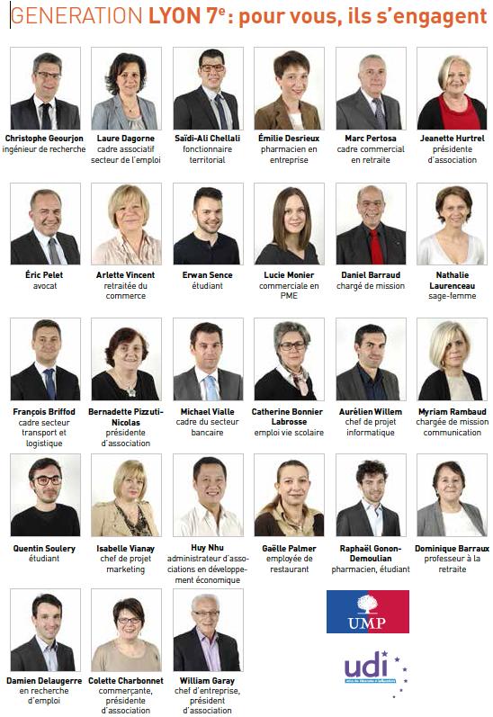 Equipe Génération Lyon 7e arrondissement