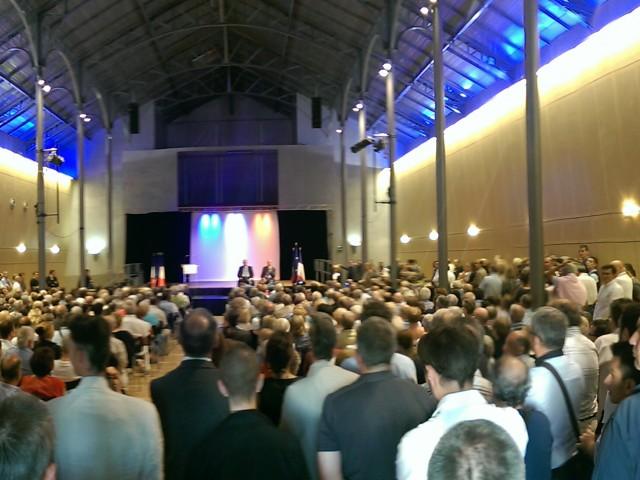 750 personnes à l'Atelier de Villefranche-sur-Saône pour écouter Alain Juppé
