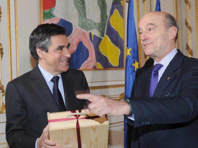 Alain Juppé et François Fillon